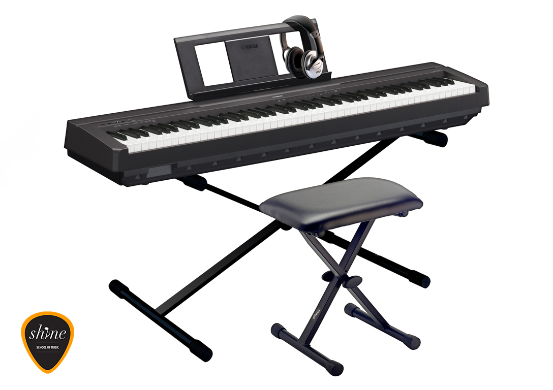 yamaha p 45 digital piano instrument rental barcelona. Black Bedroom Furniture Sets. Home Design Ideas