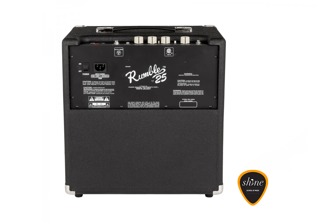Fender Rumble 25 Amp Instrument Rental Barcelona
