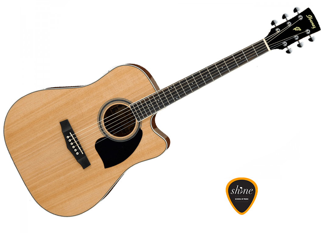 Ibanez Pf15lece Nt Natural Left Handed Electro Acoustic