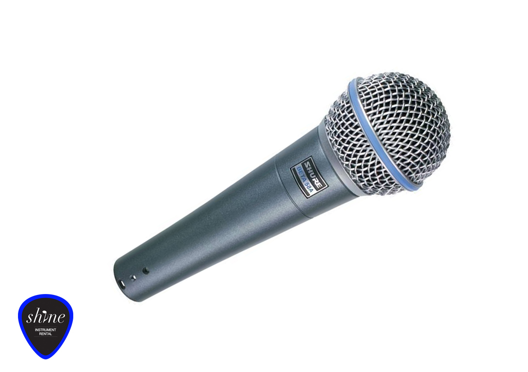 Shure Beta 58 A Microphone Instrument Rental Barcelona 58a Click To Enlarge
